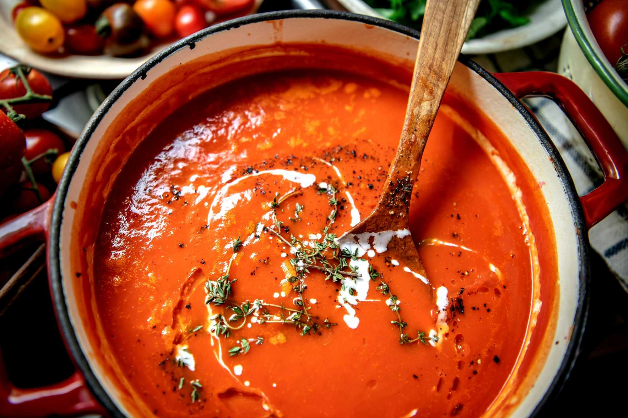 Salsa napolitana en la Thermomix