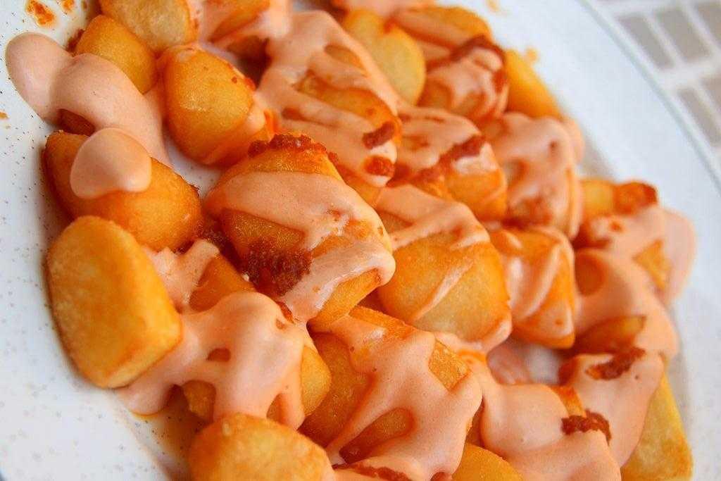 patatas bravas en la thermomix