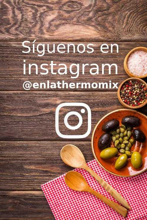 Instagram na Thermomixu