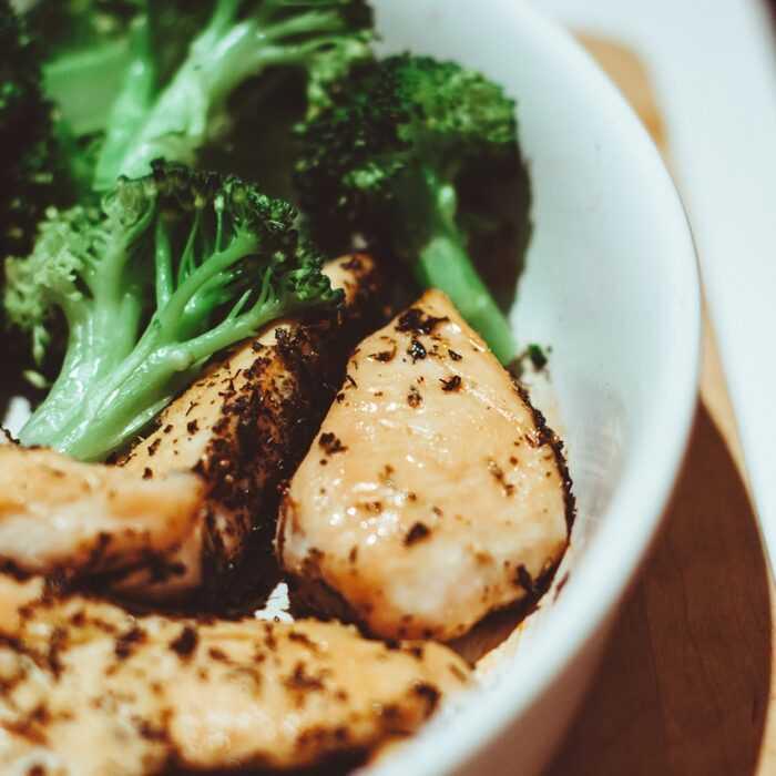 Pollo con brócoli en la Thermomix