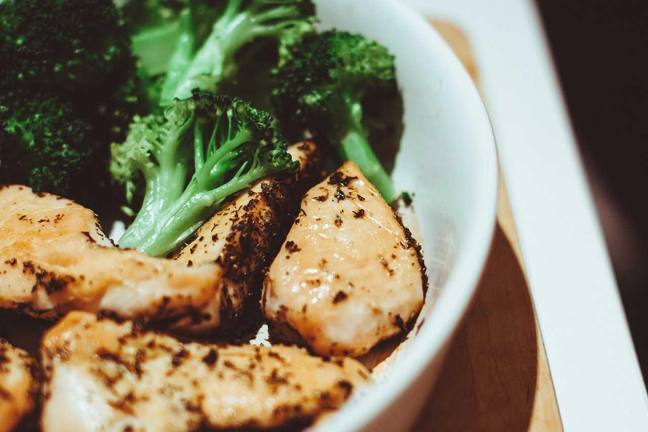 Huhn mit Brokkoli im Thermomix