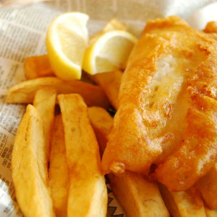 Fish and chips thermomix