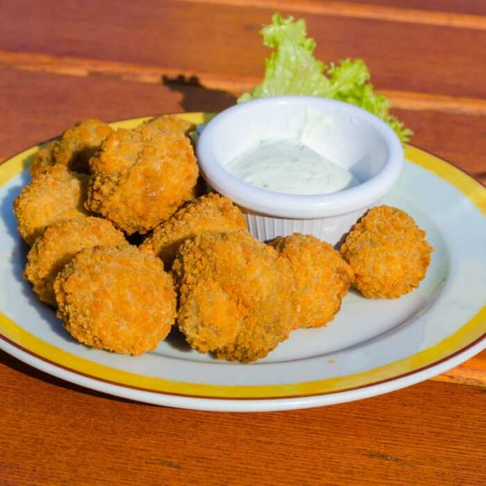 nuggets veganos thermomix