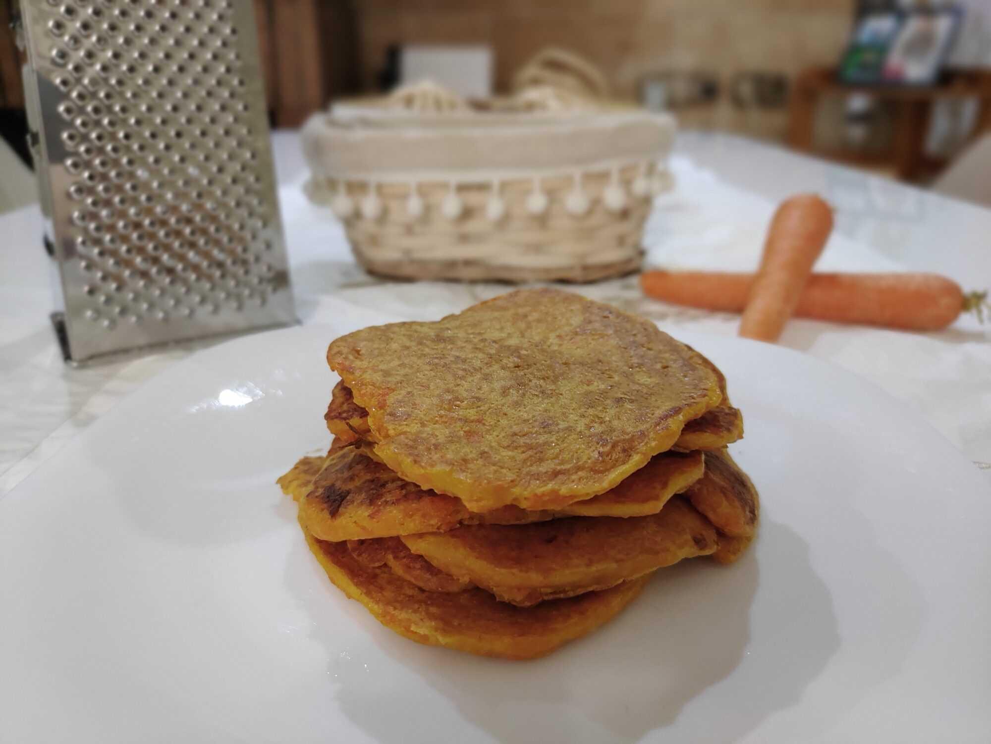 Tortitas de zanahoria en la Thermomix
