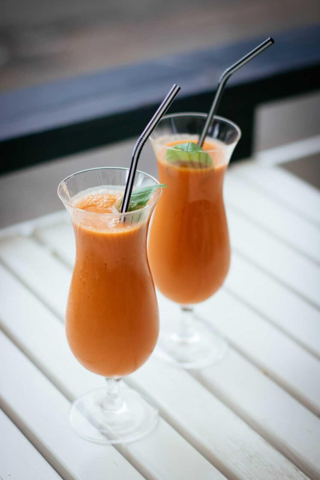batido pera naranja y arandano rojo
