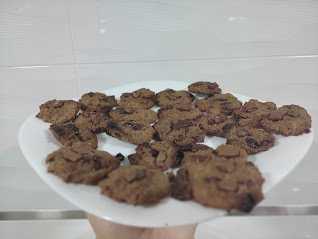 Galletas realfooding de avena y chocolate