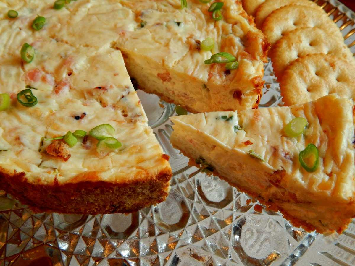 Cheesecake de salmon ahumado en la Thermomix