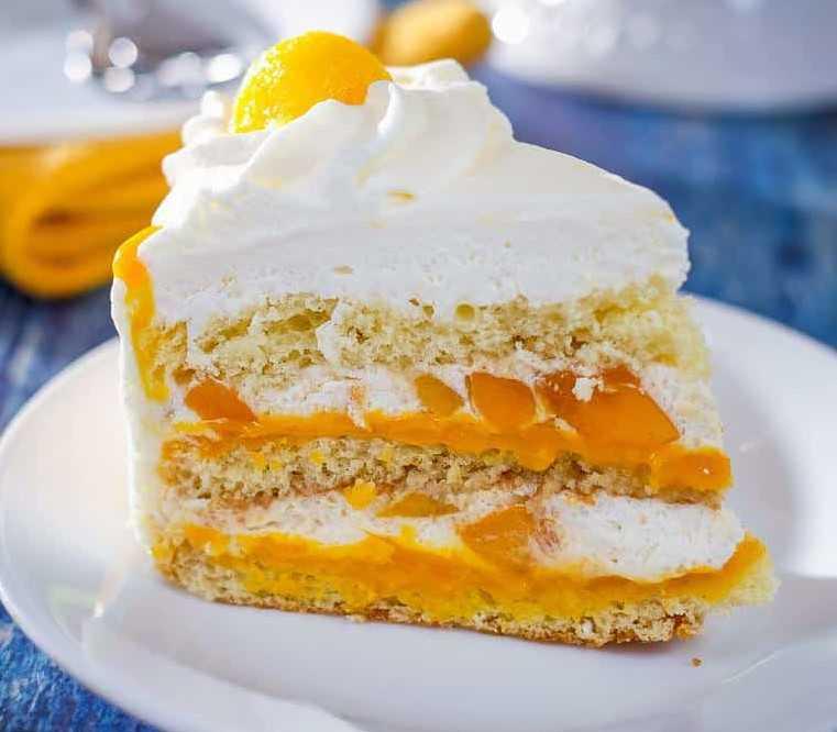 Hojaldre de nata y mango en la Thermomix