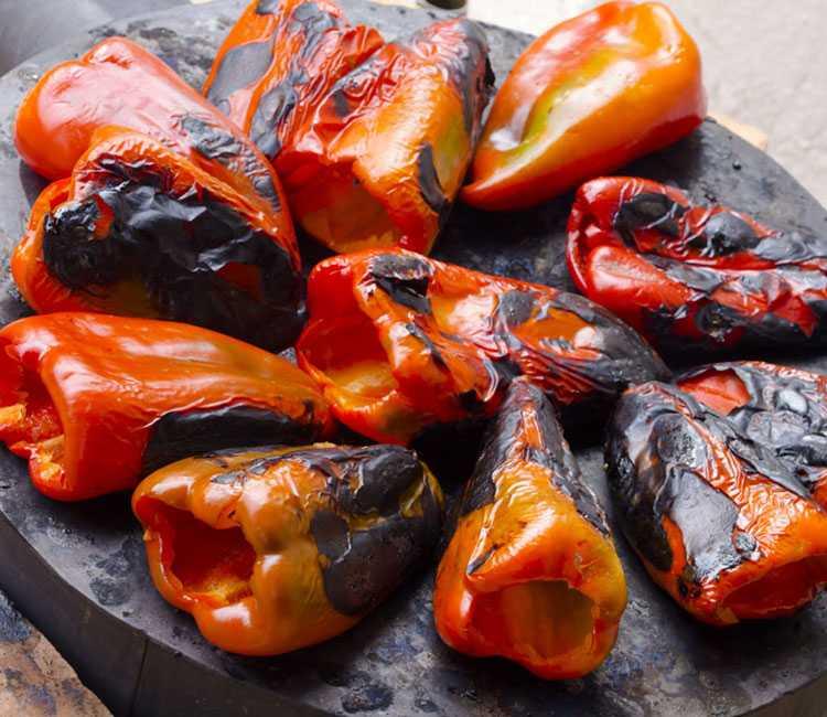 Pimientos grill