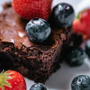 Brownie real food en la thermomix