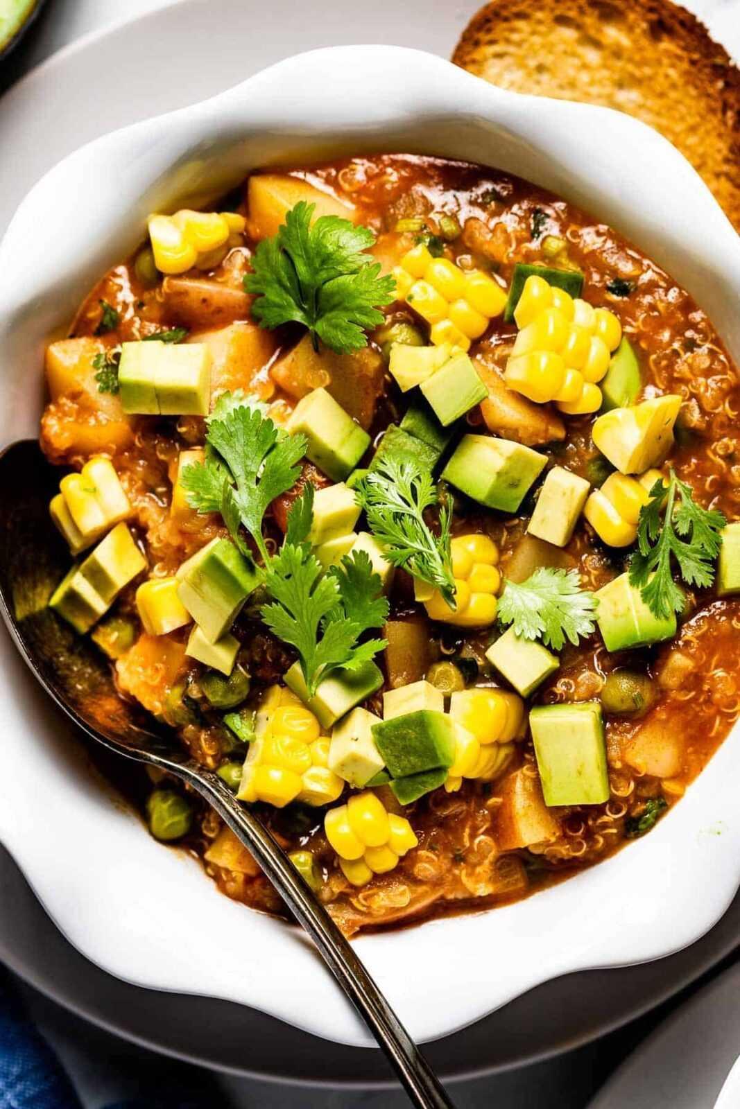 Estofado de quinoa en la Thermomix