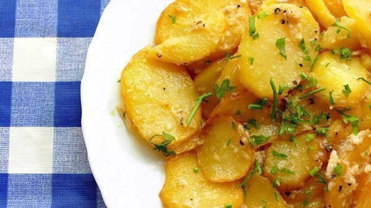 Patatas para guarnición en la Thermomix